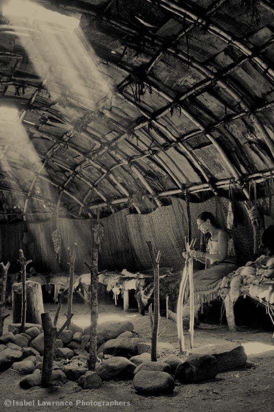 Women's hut