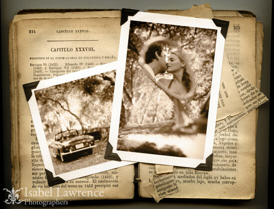 Isabellawrence_vintagecar_collage