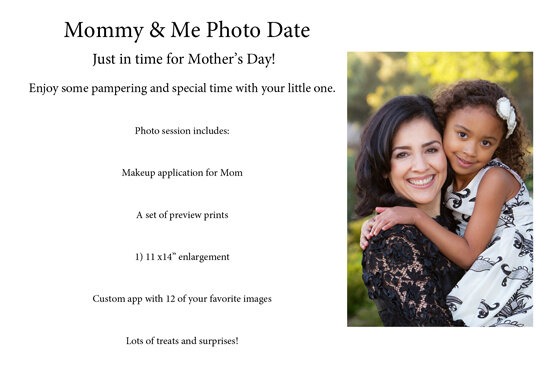 Mommy & Me Photo Package